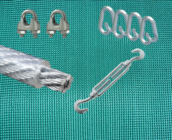 Pfeilfangnetz-grün Set