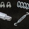 Pfeilfangnetz-schwarz Set